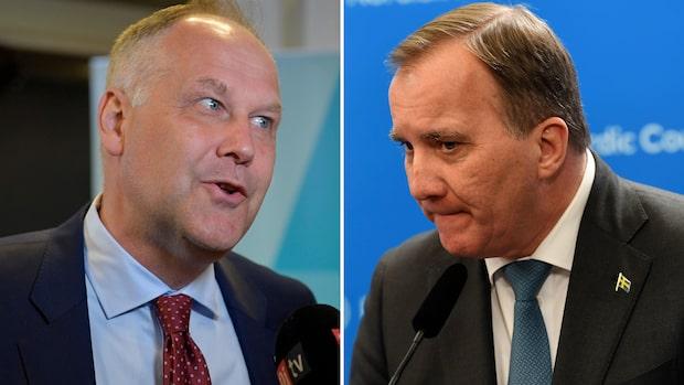 """Sjöstedts hot mot Löfven: """"Skjuta ner punkt efter punkt"""""""