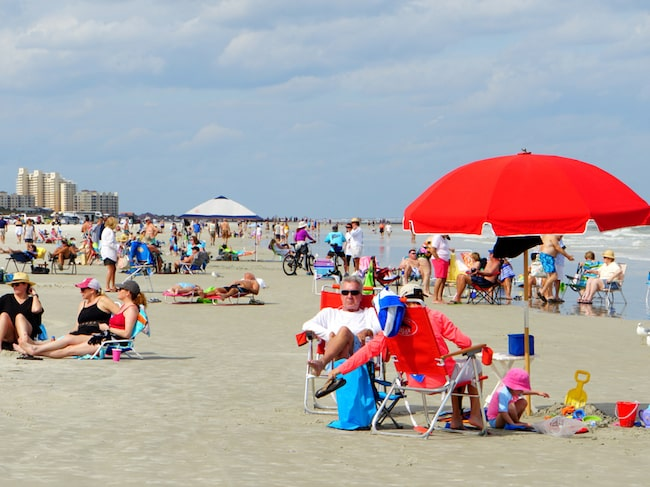 New Smyrna Beach i Florida har varit plats för flera hajattacker.