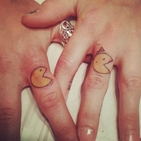 Kärlek citat för par tatueringar