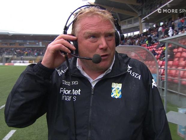 "Lennartsson efter 0-4: ""Tro fan inte det"""