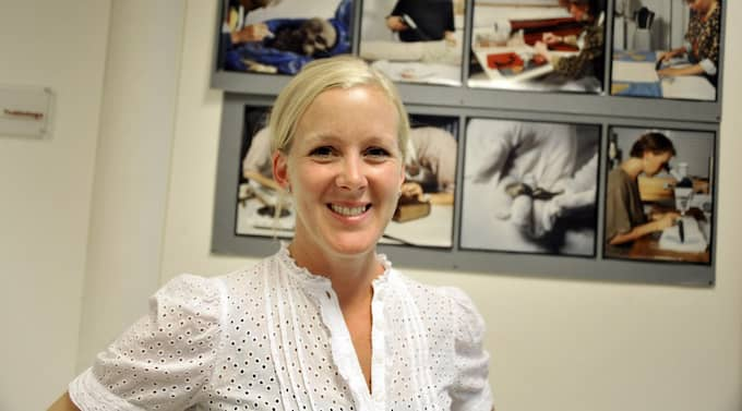 Sara Wranne konservator och chef för Studio Västsvensk Konservering. Foto: Anders Wejrot