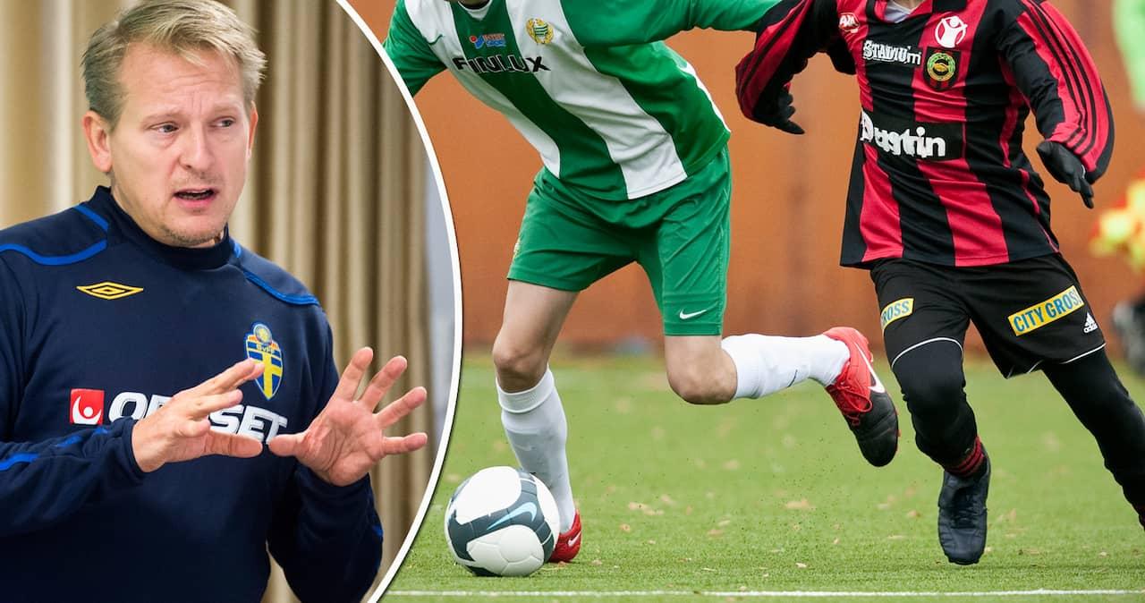Ung fotbollsspelare dog under match