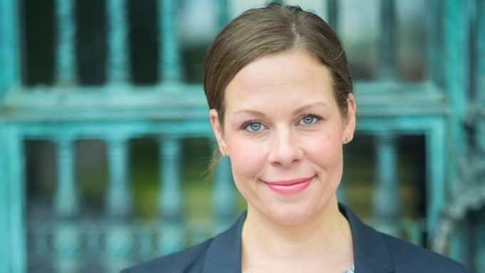 Maria Malmer Stenergard (M), riksdagsledamot från Åhus. Foto: FREDRIK WENNERLUND