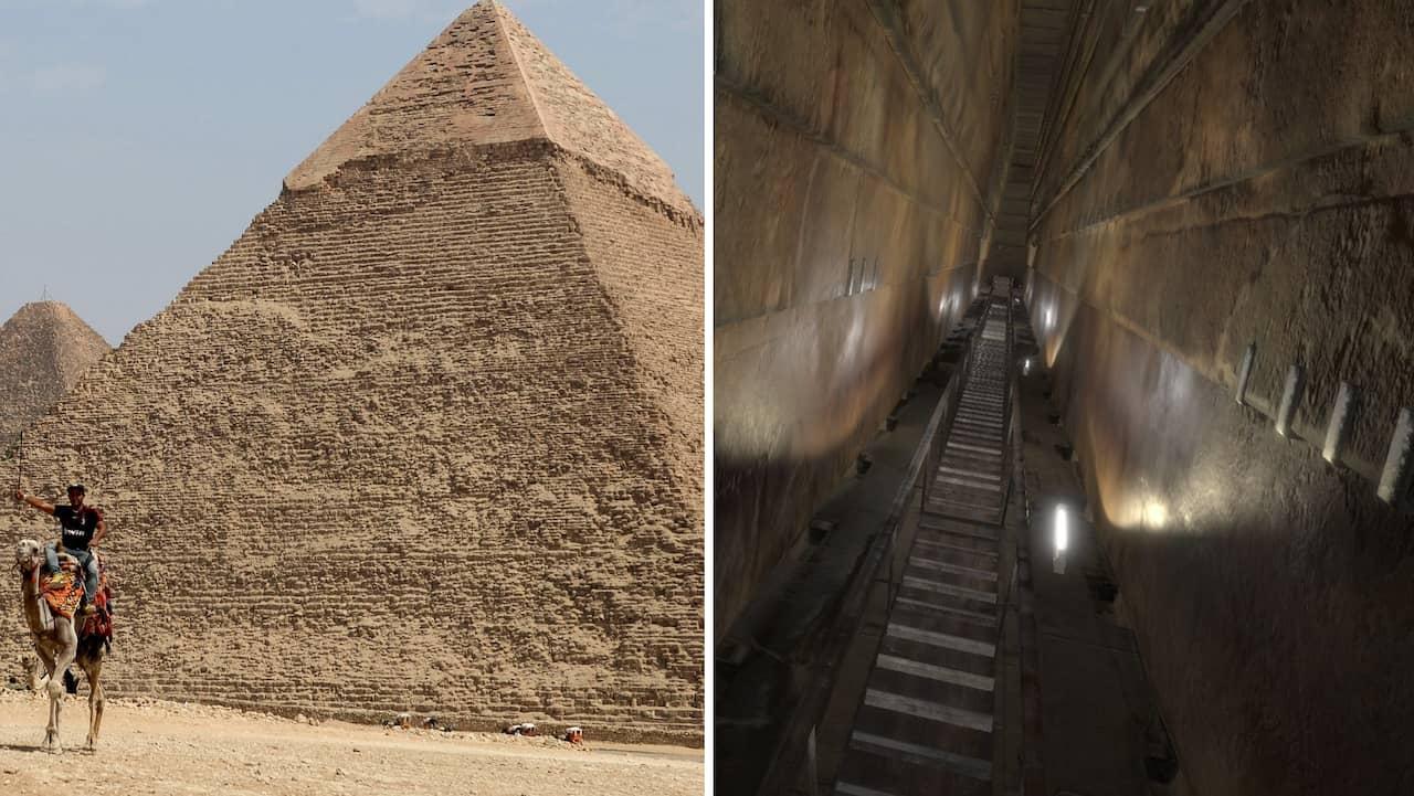 Gigantiskt hål hittat inne i Cheopspyramiden i Egypten | Allt om Resor