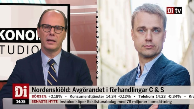 "Nordenskiöld: ""Socialdemokraterna har tvingats ge mer"""