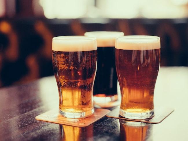 På tåget kan du testdricka olika sorters öl.