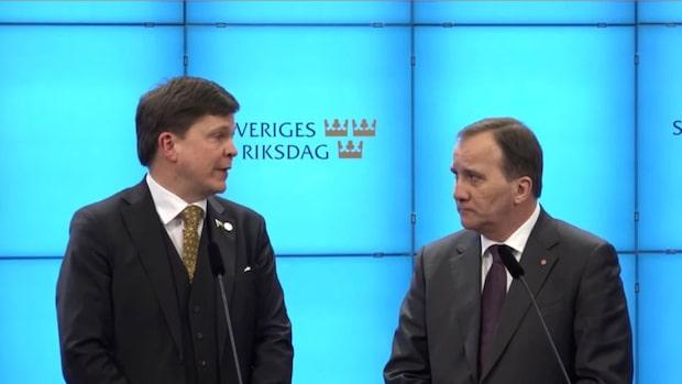 Löfven föreslås som statsminister – detta har hänt