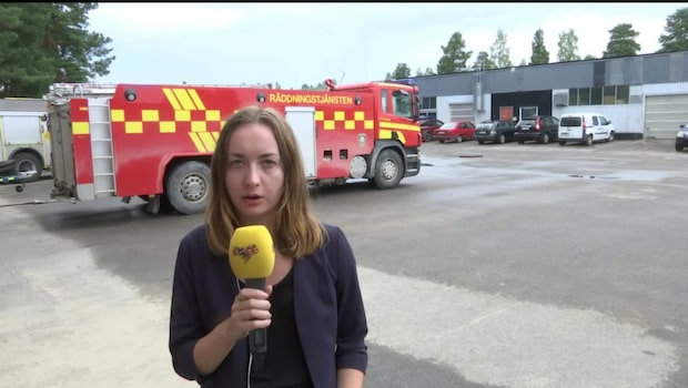 Branden i Härjedalen - regn och risk för åskovärder