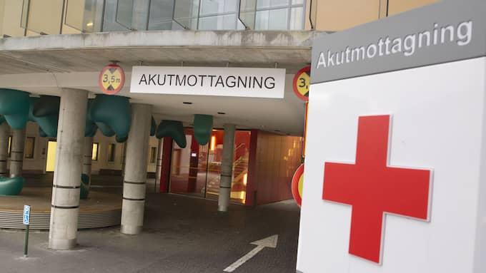 Den skjutne mannen vårdas nu på Universitetssjukhuset i Malmö. Foto: ULF RYD