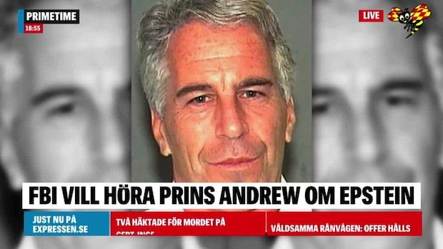FBI vill höra prins Andrew om Jeffrey Epstein