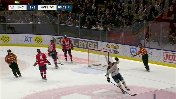 Höjdpunkter: HV71 vände och vann