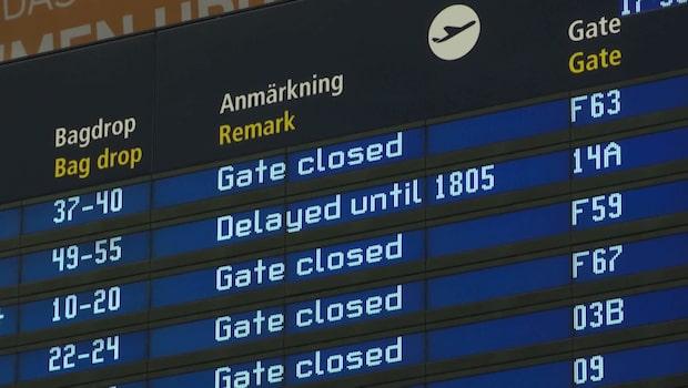 Alla flygningar till Berlin ställs in