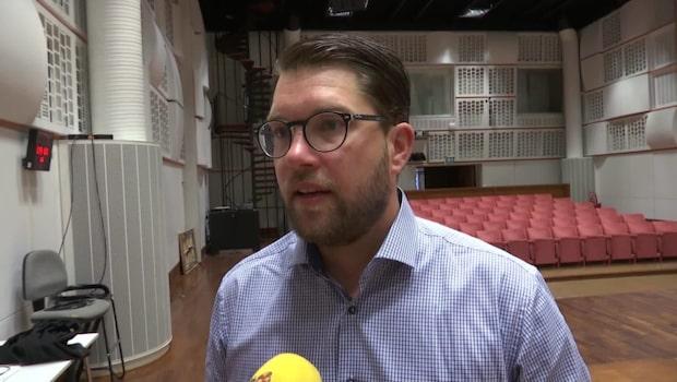 Jimmie Åkesson: Vi siktar på att bli största parti