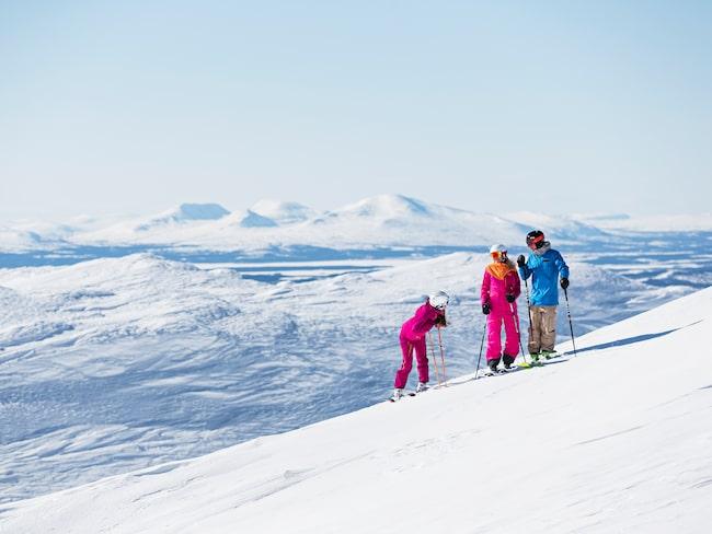 Den nya flyglinjen ska locka tyska skidturister till Åre Östersund.