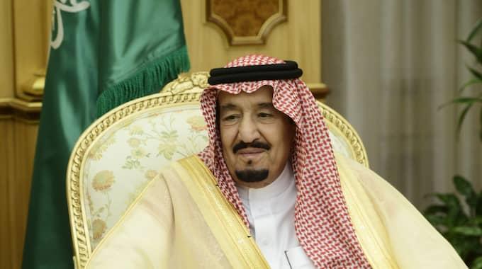 Saudiarabiens kung Salman bin Abdul Aziz. Landet är invalt i FN:s kvinnokommission Foto: Henrik Montgomery/Tt / TT NYHETSBYR N