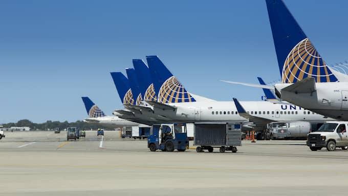 Händelsen inträffade på ett United Airlines-plan som skulle flyga från Chicago till Louisville. Foto: UNITED AIRLINES