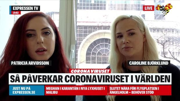 """Patricia Arvidsson: """"Det är upp 2 timmar kö till matbutik"""""""