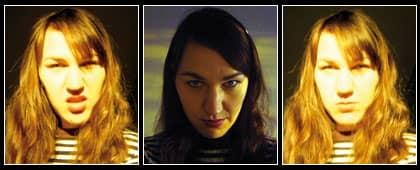 Bilderna av mordmisstänkta Christine Schürrer fanns på en dvd som hon har lämnat in till rätten.