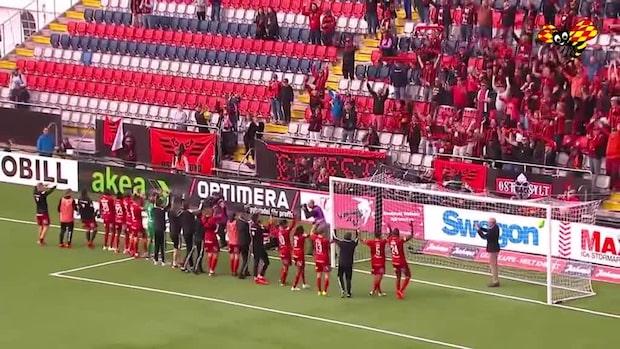 Höjdpunkter: Östersunds FK-IFK Norrköping