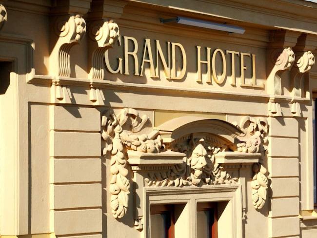 Tjusiga Grand Hotel i Gävle.