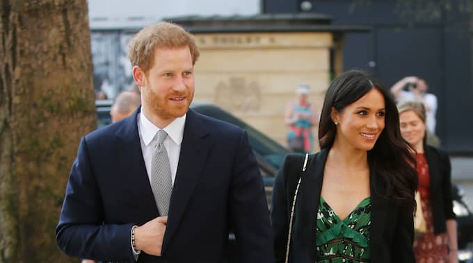 Prins Harry och Meghan Markle gifter sig den 19 maj. Foto: ALASTAIR GRANT / AP TT / NTB SCANPIX