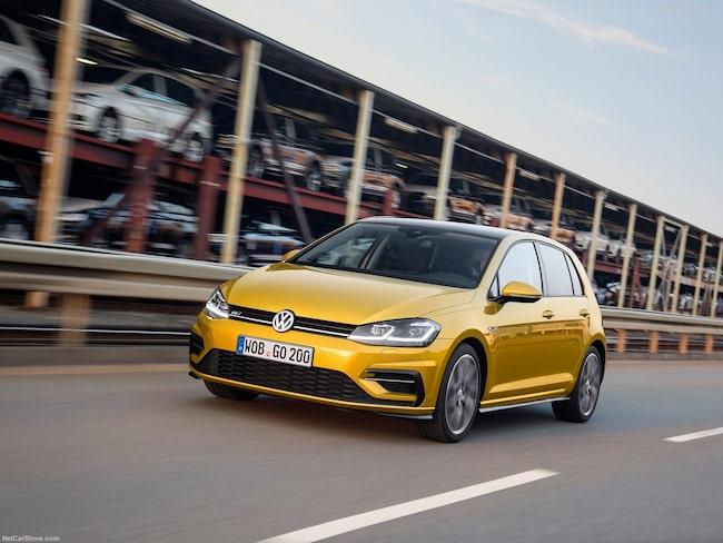 På andra plats hamnar Volkswagen.