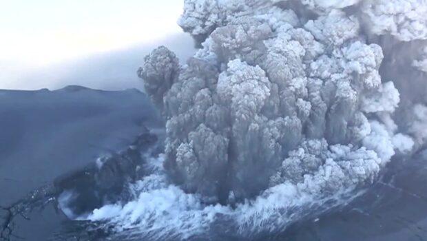 Isländsk vulkan nära utbrott