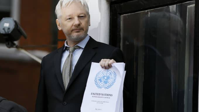 FN tar strid för Julian Assange. Foto: Kirsty Wigglesworth/AP