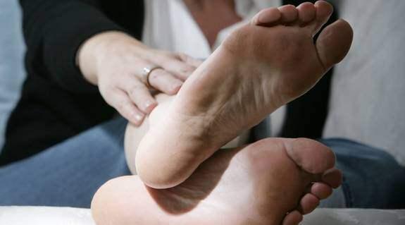 fotsprickor