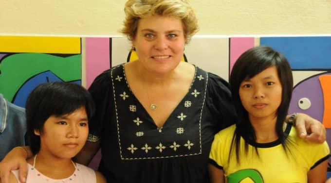 Lotta Sylwander jobbar för Unicef i Vietnam.