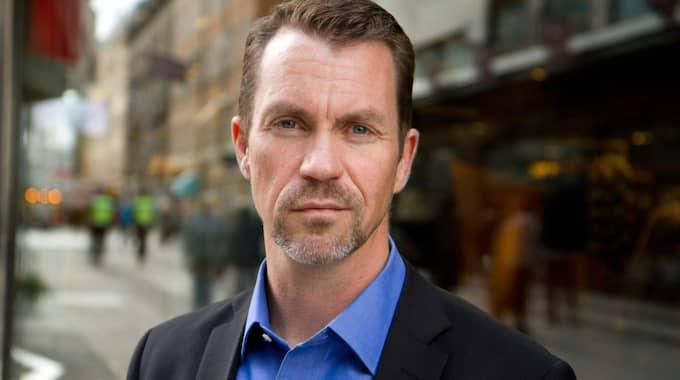 Per Geijer, säkerhetschef på Svensk handel. Foto: Bjorn Mattisson