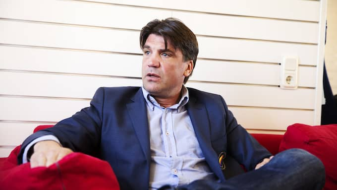 Bosse Andersson, sportchef i Djurgården. Foto: NILS PETTER NILSSON