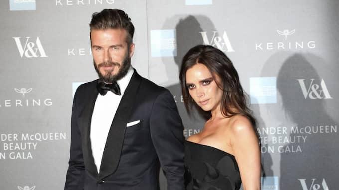 Victoria och David Beckham. Foto: Imago Sportfotodienst / IMAGO/FUTURE IMAGE IMAGO SPORTFOTODIENST