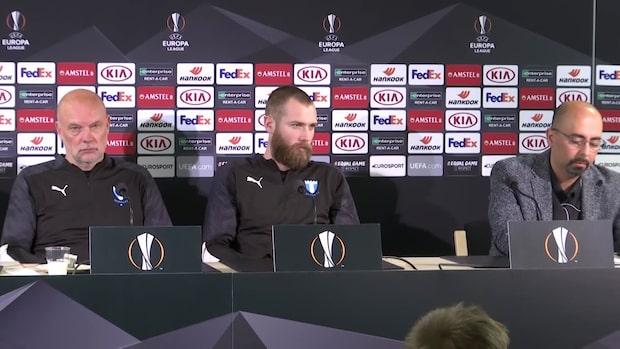 Frågan om Zlatan stoppas av Malmös presschef