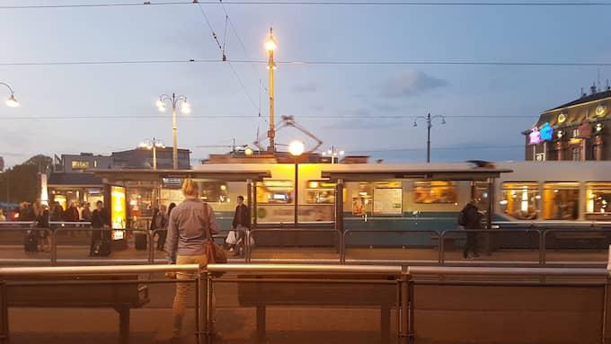 Skymning. Företagsklimatet i Göteborg är det sämsta på sexton år, enligt Svenskt Näringslivs företagsrankning. Foto: CSABA BENE PERLENBERG