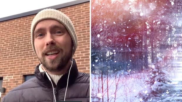 Helgens väder: Risk för snö och blåst