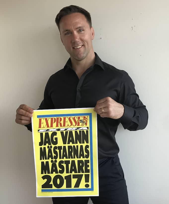 """Martin Lidberg vann """"Mästarnas mästare""""."""