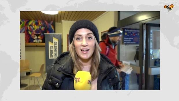Sara Bratell om reaktionerna i Davos efter Svahns seger