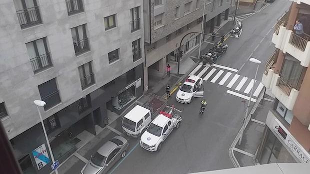 Andorra-polisens födelsedagssång för svenska 8-årigen Mariona