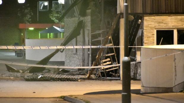 Kraftiga explosionen hördes på andra sidan Malmö