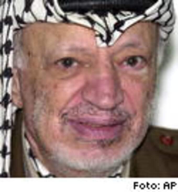 Yassir Arafat har under många år tagit emot svenska biståndspengar.