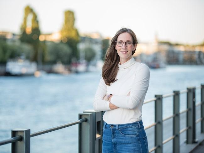 Elin Helander, kognitionsvetare och författaren bakom Hjärnkoll.