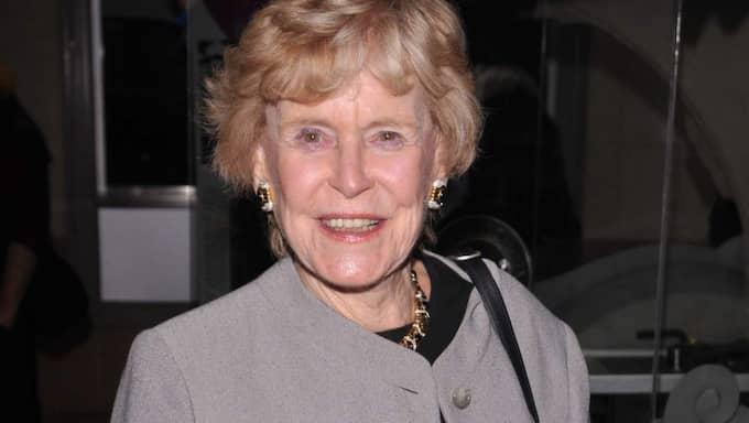 Skådespelerskan Michael Douglas mamma Diana Douglas har gått bort efter en tids cancer. Foto: Stewart Cook/Rex Shutterstock