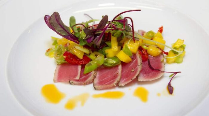 färsk tonfisk gravid