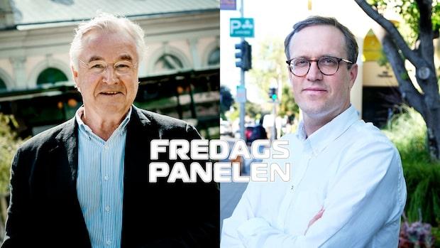 Fredagspanelen med Sven Hagströmer och Andreas Cervenka