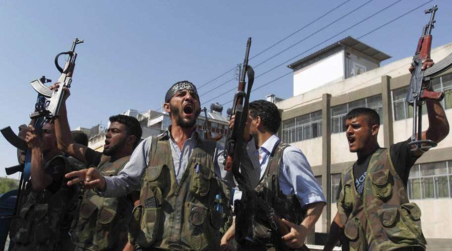 Rebeller ger inte upp forran assad faller
