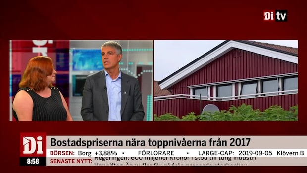 """Martin Guri om bostadsmarknaden: """"Priserna pressas uppåt"""""""