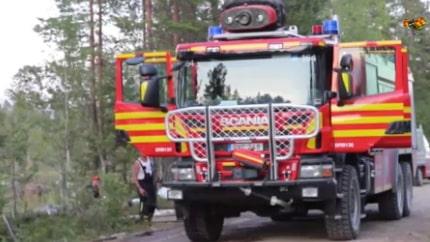 Räddningschef: Det här är extremt för Sverige