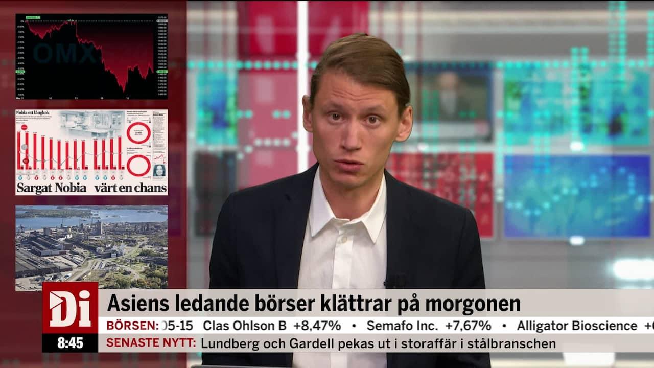 Swedbank Faller Rejalt Pa Borsen Idag Di Tv