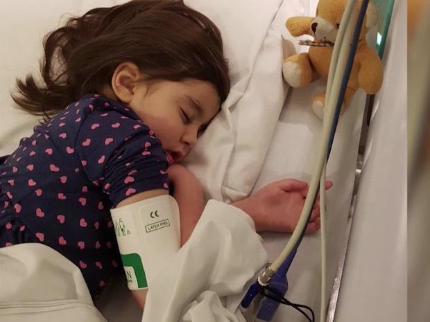 Alicia, 6, har somnat in – familjen tackar för stödet